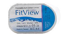 FitView 2 Weeks 6 db +  Kontaktlencsék ajándékba (2dobozhoz)