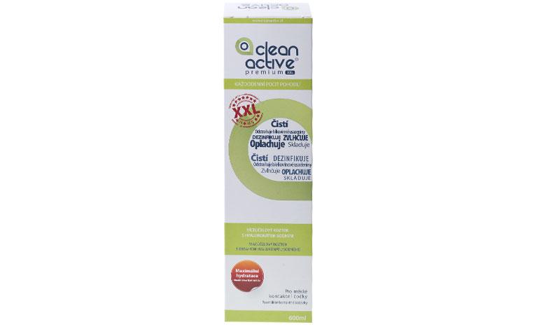 Clean Active Premium XXL 600 ml - érzékeny szemre + Ajándék (2 dobozhoz)
