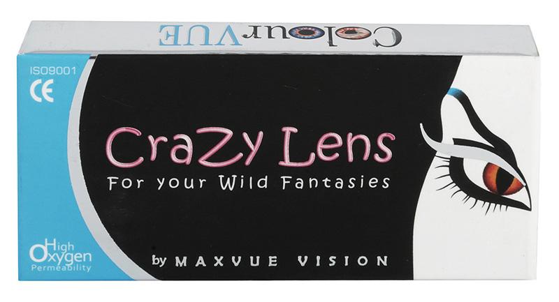 Crazy Lens UV Glow 2 db - UV fényre világító lencse