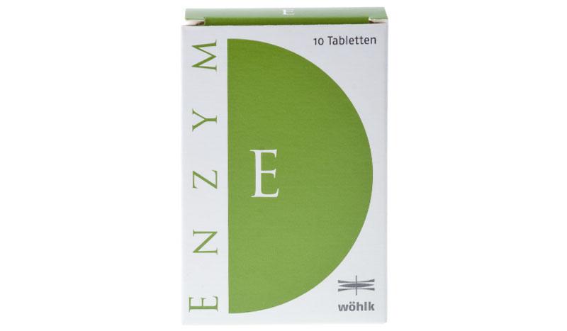 Wöhlk Enzym 10 Tabletták