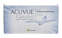 Acuvue® Oasys with Hydraclear® Plus 12 db + ajándék kupon (2 dobozhoz)