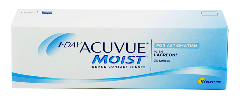 1-DAY ACUVUE MOIST for ASTIGMATISM 30 db