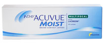 1-DAY ACUVUE® MOIST MULTIFOCAL 30 db