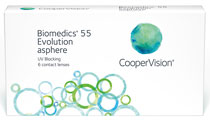 Biomedics 55 evolution™ (Mediflex 55™) 6 db