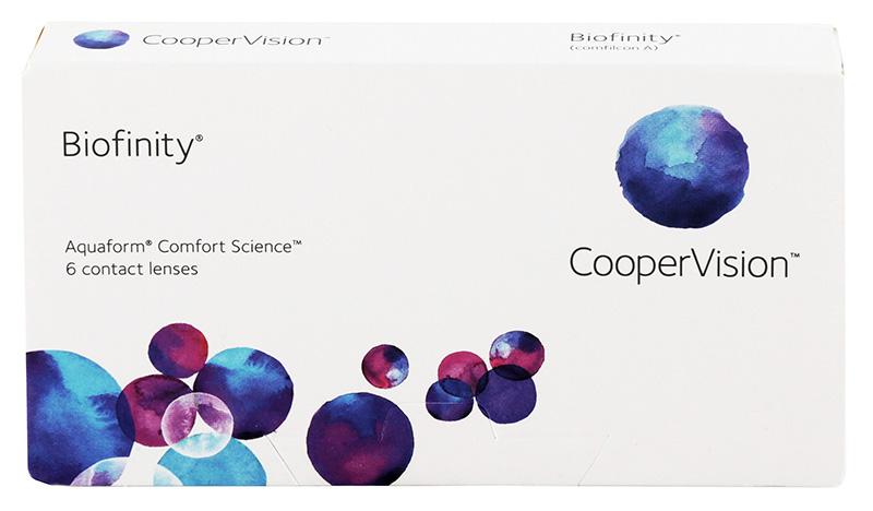 Biofinity 6 db + Kontaktlencsék ajándékba (2dobozhoz)