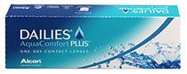 DAILIES AquaComfort Plus 30 db + Kontaktlencsék ajándékba (2dobozhoz)