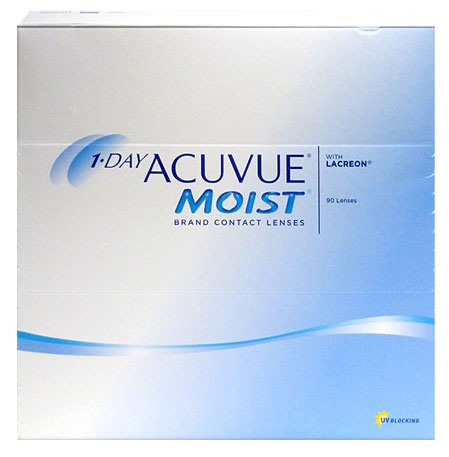 1-DAY ACUVUE MOIST 90 db
