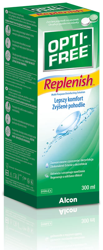 OPTI-FREE® RepleniSH® 300 ml