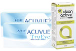 2 x 1-Day Trueye + Clean Active Premium Drops 15 ml