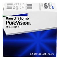 PureVision® 6 db + INGYENES lencsék (2 darab)