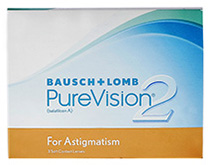 PureVision® 2 HD for Astigmatism 6 db