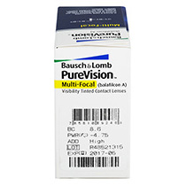 PureVision Multifocal 6 db