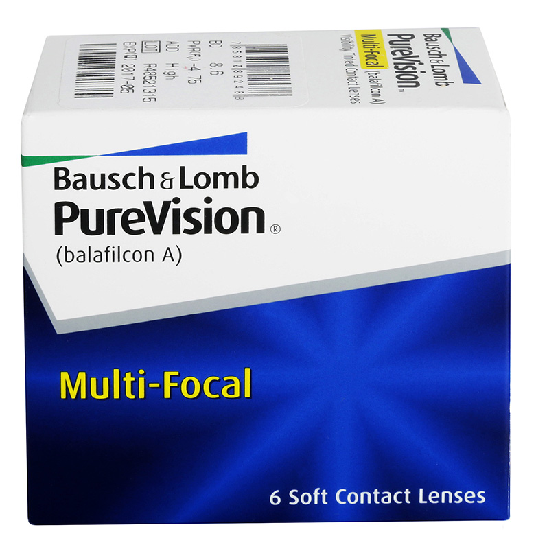 PureVision® Multifocal 6 db