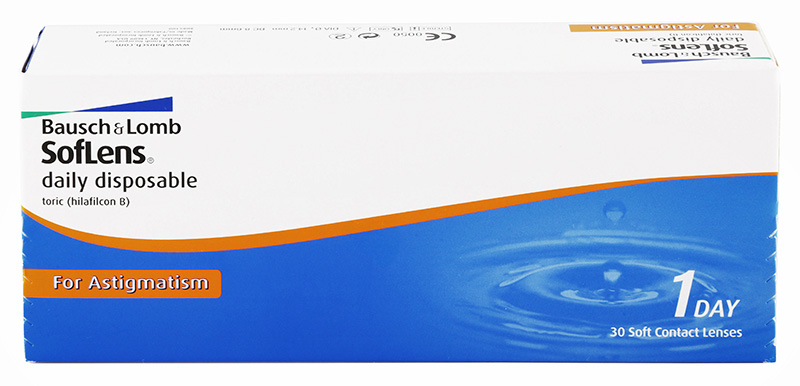 SofLens® Daily Disposable Toric for Astigmatism 30 db