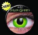 soczewki kolorowe Crazy Lens Hulk Green