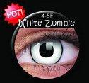 soczewki kolorowe Crazy Lens White Zombie