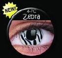 soczewki kolorowe Crazy Lens Zebra